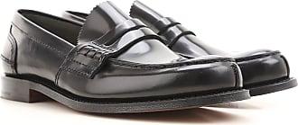 Zapatos Calados Brogue Baratos en Rebajas, Negro, Piel, 2017, 39.5 41 41.5 43 44.5 46 Church