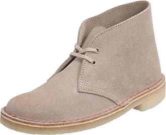 Clarks Desert Boot 001037725, Damen Desert Boots, Violett (Brown Sde), EU 36