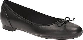 Aintree Jump 203479274, Damen Ballerinas, Schwarz (Black Fabric), EU 37.5 (UK 4.5) Clarks