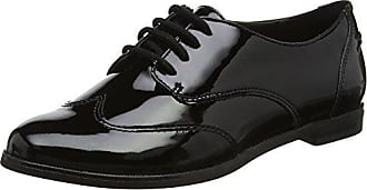 Clarks Andora Trick, Zapatos de Vestir para Mujer, Negro (Black Pat), 41.5 EU