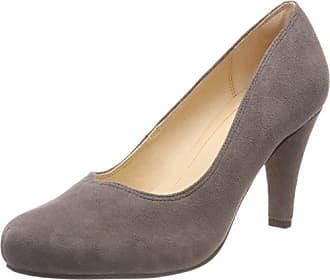 Clarks Dalia Rose, Zapatos de Tacón para Mujer, Gris (Taupe Suede), 39.5 EU