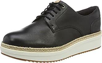 Clarks Gatley Walk - Zapato brogue de cuero hombre, color rojo, talla 44.5