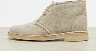 Desert Boot natural canvas Clarks bRDKWN