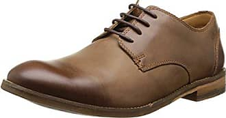 Cap Clarks Chinley - Chaussures Derby Hommes, Couleur Daim Gris, Taille 41.5