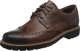 Gabson Limit, Herren Brogue Schnürhalbschuhe, Braun (Tan Leather), 43 Clarks