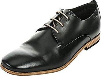 Clarks Un Aldric Park, Zapatos de Cordones Derby para Hombre, Marrón (Tan Leather-), 42 EU