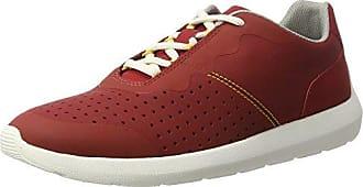 Clarks Nature IV, Zapatillas para Hombre, Rojo (Rust Combi), 42 EU