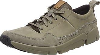 Clarks Orson Bay, Sneakers Basses Homme, Bleu (Navy Nubuck), 40 EU