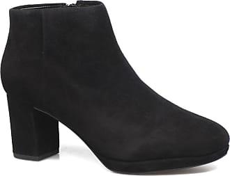 Clarks Femmes Maypearl Flore Bottes De Combat - Noir (cuir Noir), Taille: 40
