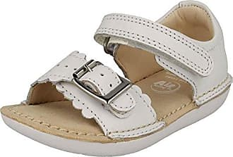 Clarks Mädchen Sport- & Outdoor Sandalen Weiß Weiß, Weiß - Weiß - Größe: 20 EU G