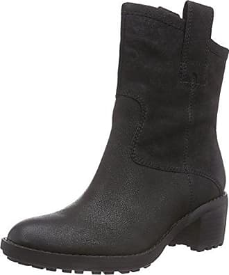 Clarks Maypearl Ramie Black Leather, Schuhe, Stiefel & Boots, Chelsea Boots, Schwarz, Female, 36