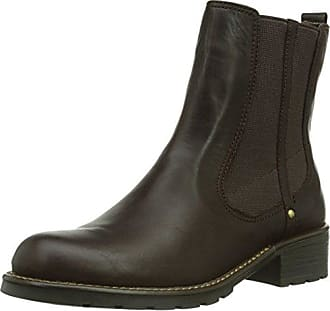 Clarks Avington Grace, Bottes Souples Femme, Marron (Dark Brown), 39.5 EU