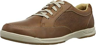 Clarks Butleigh Edge, Derby Homme, Marron (Tan Leather), 46 EU
