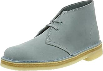 Clarks Originals Damen 261227424 Desert Boots, Blau (Grey/Blue), 35.5 EU