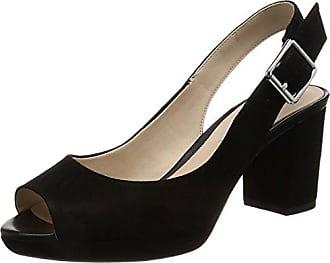 Clarks Pastina Malory, Damen Slingback Pumps, Grau (Light Grey Leather), 39.5 EU (6 Damen UK)