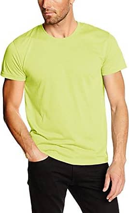 tee 6, Camiseta para Hombre, Amarillo (Bright Yellow 732), Large HUGO BOSS