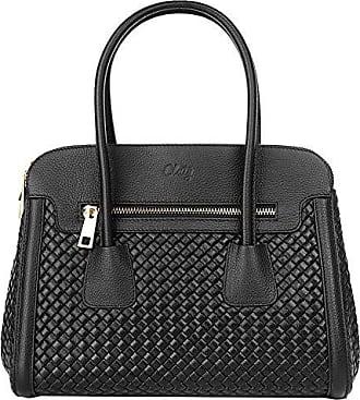Handtasche ECHT LEDER beige Damen Groß - 016945 Cluty 39cQ9t4BQ
