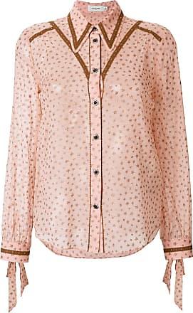 printed blouse - Pink & Purple Coach Sale Footlocker Cheap Largest Supplier Qsezw9