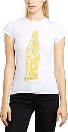 Coca-Cola Womens Lace Foil Bottle Crew Neck Short Sleeve T-Shirt Coca Cola Ware Marketable For Sale Release Dates Sale Online Cheap Sale Fast Delivery Footaction For Sale Perfect D7nafh