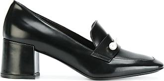 Ballet Flats Ballerina Shoes for Women, Black, Leather, 2017, 6 7.5 Coliac di Martina Grasselli