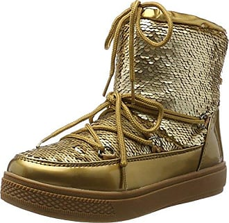 YSN04-F17, Botas de Nieve para Mujer, Dorado (Gold GOL), 37 EU Colors Of California