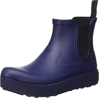 Plaid Wellies Wellington Boots- Bottes de neige femme - Bleu - Blue - Blau (blau 7), 39 EU (6 UK)Playshoes