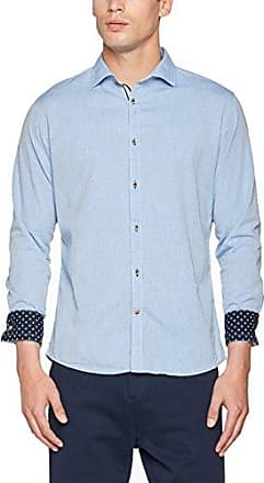 MAX, Camisa para Hombre, Azul (Sky Paisley), M Colours & Sons