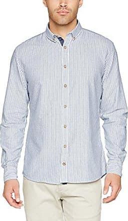 Miami Print-Story, Camisa Casual para Hombre, Mehrfarbig (Tropical Island 0184), 40 Colours & Sons
