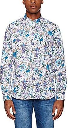 Wilson, Camisa para Hombre, Multicolor (Mint Flower), L Colours & Sons