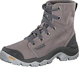 Columbia Damen Sneakers, Wasserdicht, Camden Chukka, Beige (Ancient Fossil Grey Ice), Größe: 39.5
