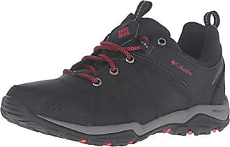 Columbia Fire Venture Waterproof, Chaussures Multisport Outdoor Femme, Noir (Black, Burnt Henna 010), 41 EU