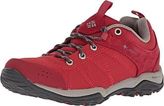 Fire Venture Waterproof, Zapatillas de Deporte para Exterior para Mujer, Azul (Blue Heron, Bright Peach), 42 EU Columbia