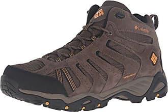 Columbia Cascade Pass Waterproof, Chaussures de Randonnée Hautes Homme, Marron (Major/Bright Copper), 40 EU