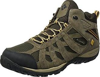 Columbia Cascade Pass Waterproof, Chaussures de Randonnée Hautes Homme, Marron (Major/Bright Copper), 44 EU