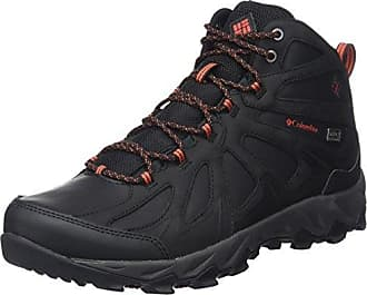 Columbia Homme Chaussures Multisport, CANYON POINT, Noir (Black, Mountain Red), Pointure : 42