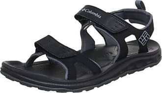 Columbia Sorrento Leather Flip Wmns Damen Sandalen, Schwarz (Black, Graphite 010), 36 EU, BL4505