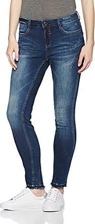 Comma Ci 88705723642, Vaqueros Slim para Mujer, Gris (Grey/Black Denim Stretch 98Z7), 38