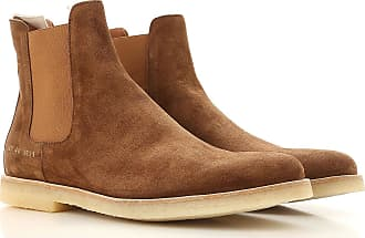 Boots for Men, Booties On Sale, Camel, suede, 2017, 5.5 6.5 7 8 9 Common Projects