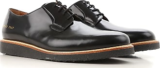 Lacer Des Chaussures Pour Hommes Richelieus, Derbies Et Richelieus En Vente, Noir, Cuir, 2017, 41 41,5 42 43,5 44 45 Prada