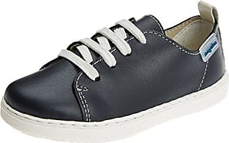 Ricosta Wally, Zapatos de Cordones Derby para Niños, Azul (See 177), 19 EU
