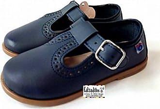 Conguitos Zapatos Para Niño En Piel De Color Azul Marino, De Osito Azul Marino, 21