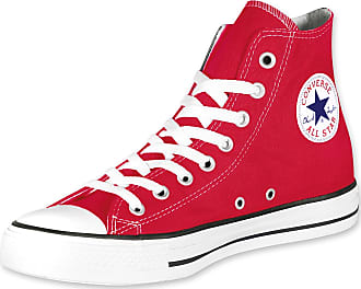 CONVERSE C.T. All Star Hi sneakers lacets sport adulte TISSU RED ROUGE M9621C AvI0OW