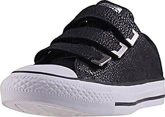 Damen Lifestyle Auckland Racer OX Sneaker, Schwarz (Black/Black/Black 001), 38.5 EU Converse