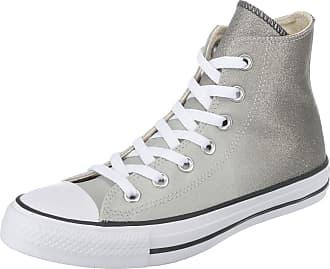 Converse Chaussures De Sport Haut Gris / Blanc uVHFB6Xz
