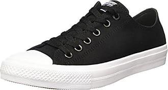 Unisex-Kinder CTAS Hi Black/White Fitnessschuhe, Schwarz (Black/Black/White 001), 35 EU Converse