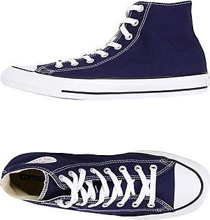CT AS HI LEATHER/SUEDE DISTRESSED - FOOTWEAR - High-tops & sneakers Converse evNR73i2