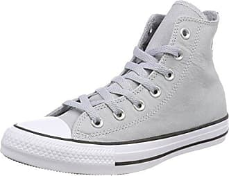 Unisex Kids Chuck Taylor CTAS Hi Nubuck Fitness Shoes, Green (Dark Stucco/Dark Stucco 324), 3.5 UK 4 UK Converse