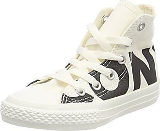 Converse Unisex-Erwachsene CTAS Hi Natural/Black/White Hohe Sneaker, Mehrfarbig (Natural/Black/White), 37.5 EU