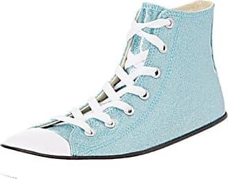Converse CTAS 2V OX, Zapatos de Bebé Unisex Beb, Blau (Bleached Aqua/Crimson Pulse 486), 21 EU