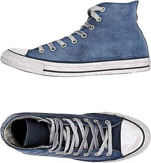 CTAS HI DENIM FRAYED - FOOTWEAR - High-tops & sneakers Converse d9RnJzbU